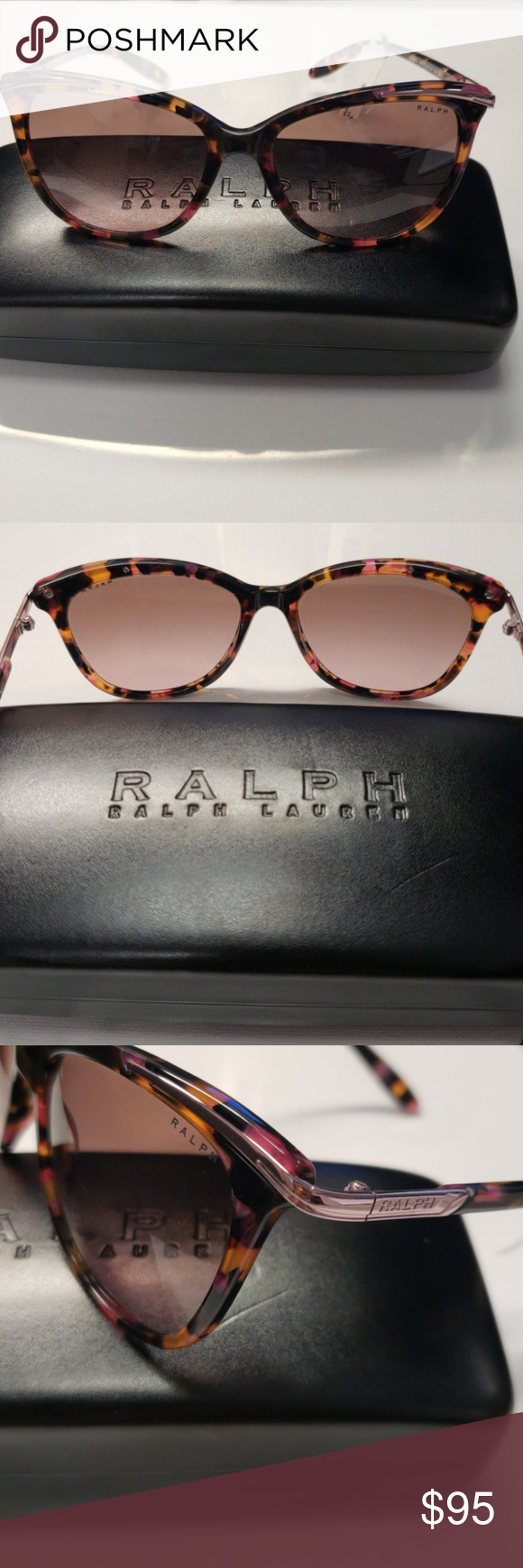 a95513f601 Ralph Lauren RA5203 Cat Eye Sunglassess Frame Color  146114 Pink Marble  Lens Color  Brown Rose Gradient Polarized Lens  No Frame Shape  Cat Eye  Gender  ...
