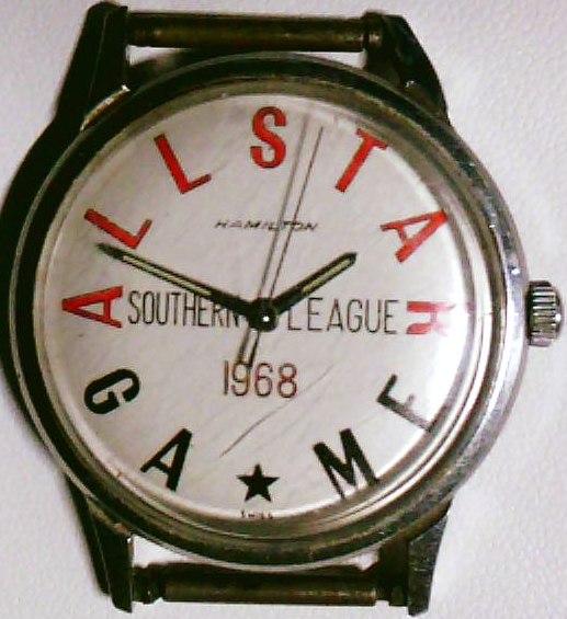This Is A Vintage Swiss Hamilton 1968 Southern League All Star Game Issued Watch Which Belongs To Local Customer With Images Repair Minor League Baseball Baseball League