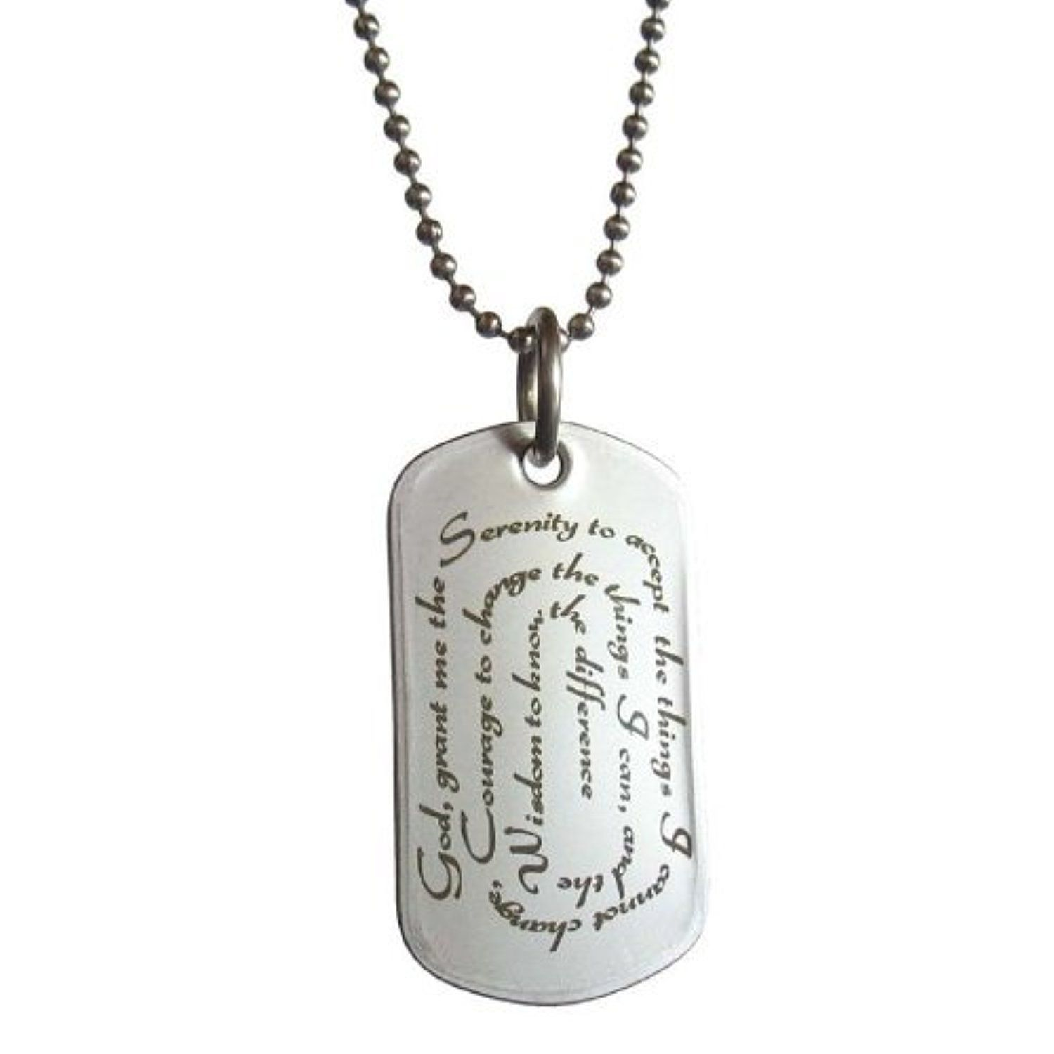 worn necklace a worngoldmulti message n multi bottle gold in serenity necklaces prayer