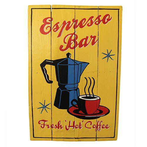 Rough+Wooden+Sign+-+Espresso+Bar