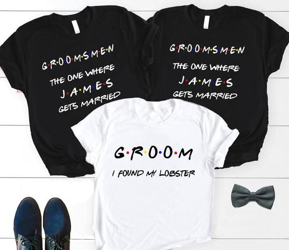 8460e4c9 Groomsmen shirt, Bachelor Party shirts, Stag party, Groom shirt, Best men  shirts, Groom's crew, Team Groom, Friends themed shirt