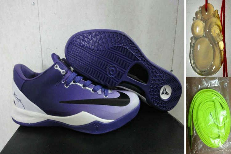 off Again to Buy Kobe 8 System MC Mambacurial FB Club Purple White Black with Western Union Cheap Kobe Bryant Shoes