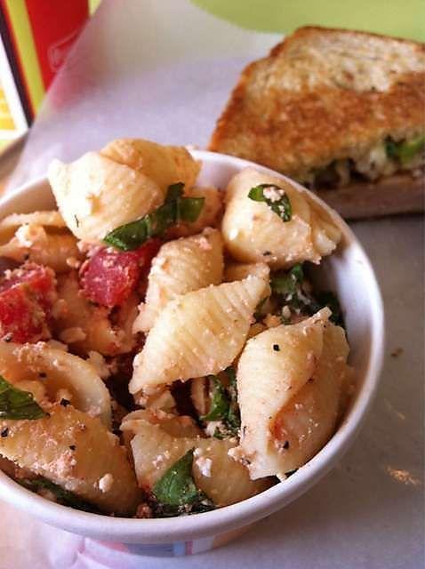 Zoe S Pasta Salad Recipes Zoes Kitchen Pasta Salad Recipe