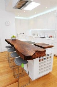 Love This Rough Edge Wooden Bar Counter Top Home Decor Decorating