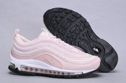Nike Air Max 97 Barely Rose 921733 600 Sneaker Women's Shoes