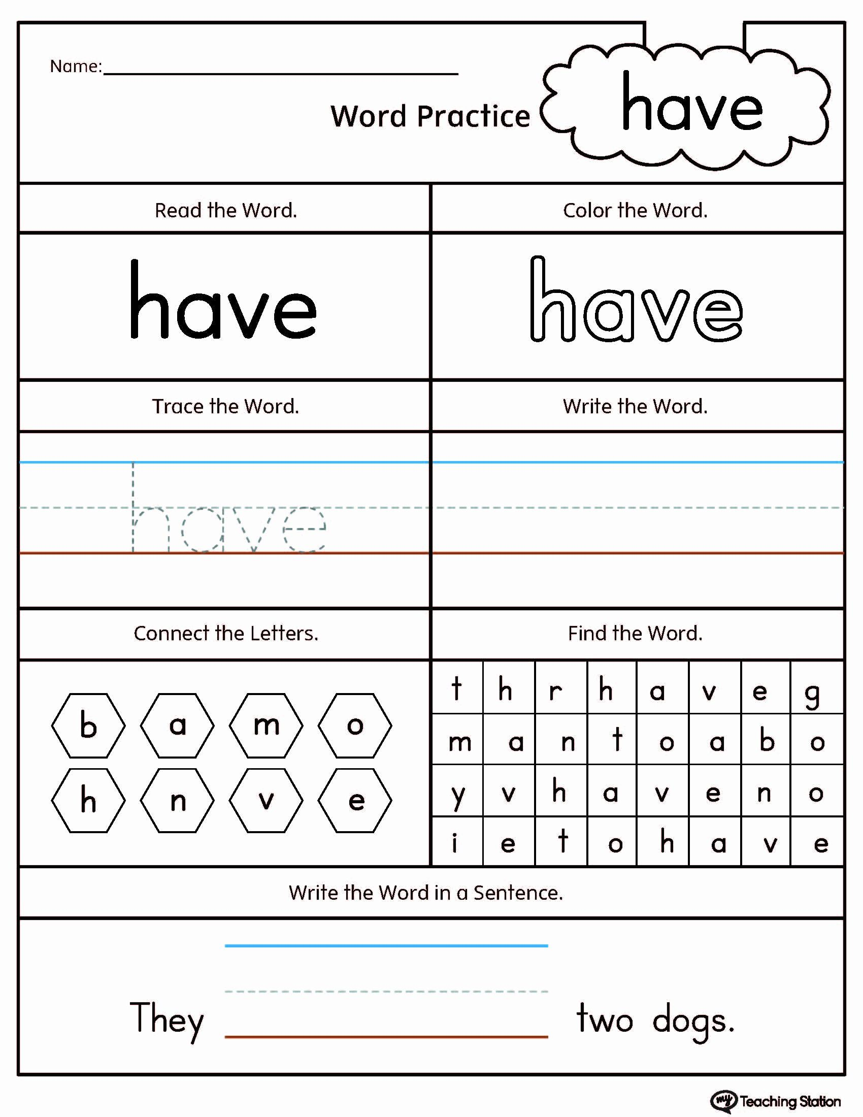 Preschool Worksheets Age 4 In