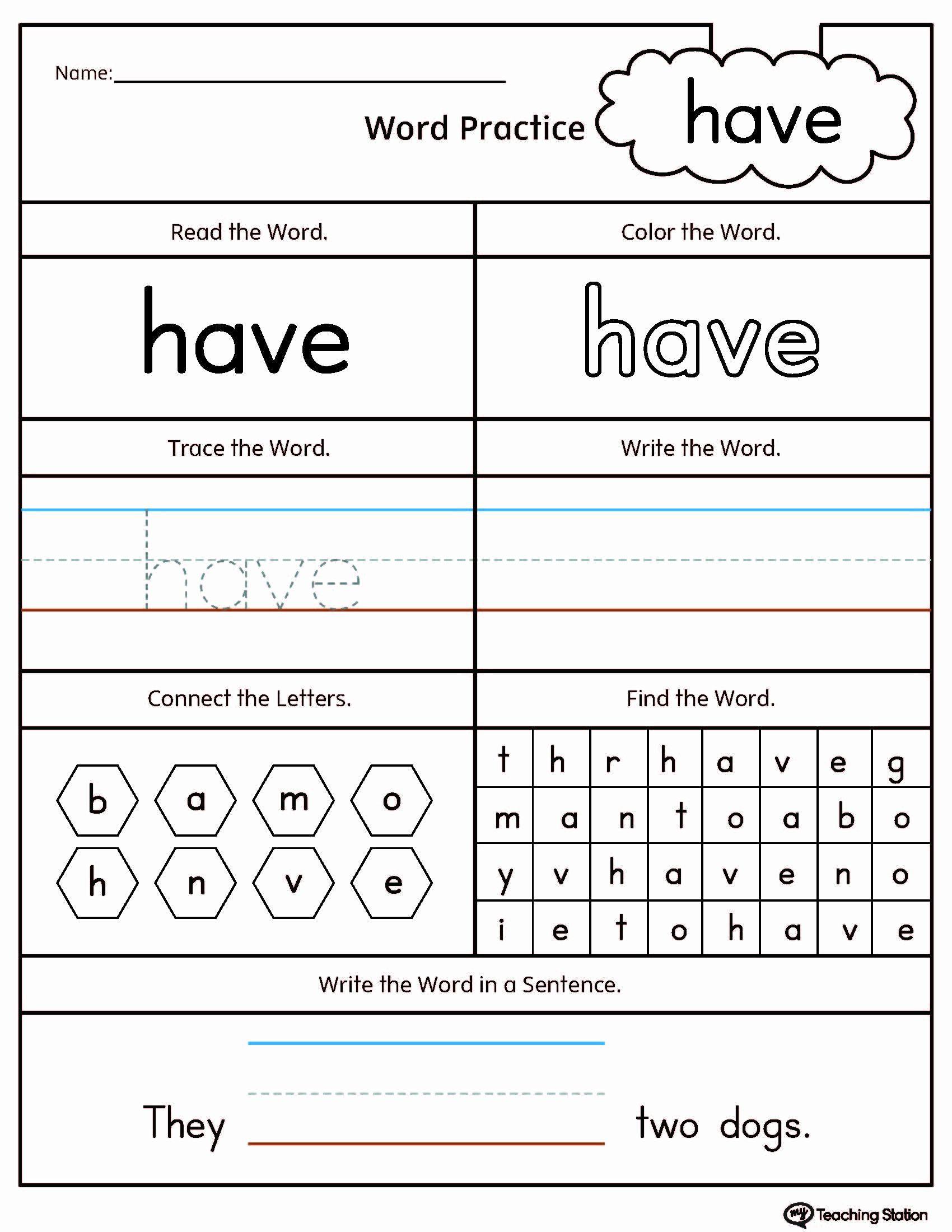 Preschool Worksheets Age 4 In