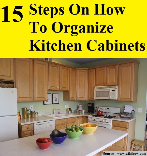 Ideas To Organize Kitchen Cabinets: Pin By HOME And LIFE TIPS On Home And Life Tips