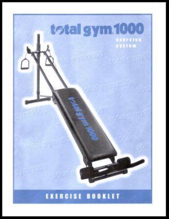 banc de musculation total gym 1000