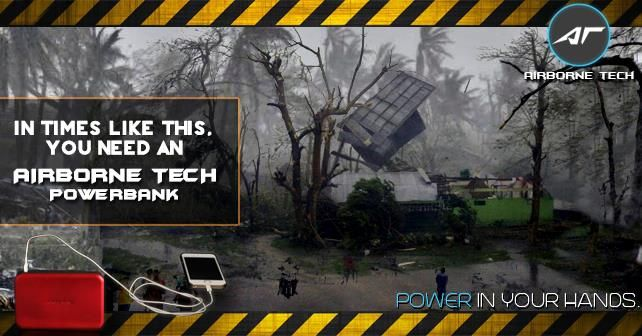 In Times Like This, You Need An Airborne Tech Powerbank - Airborne Technologies