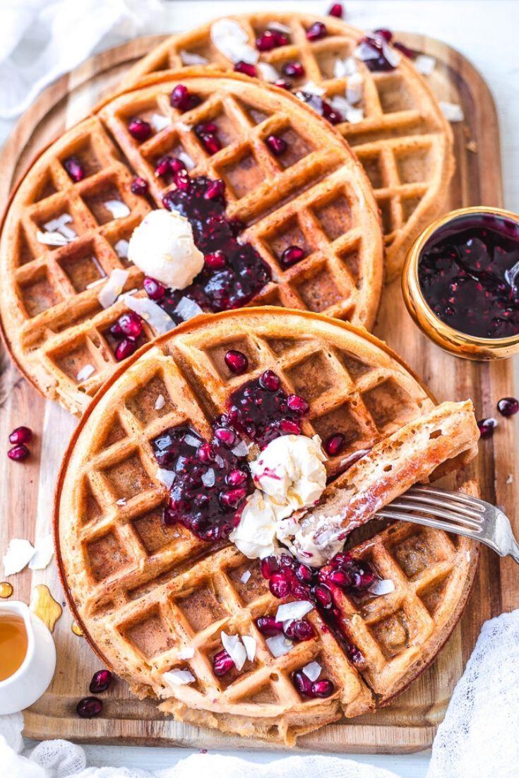 Vegan Gluten Free Oat Waffles Gluten Free Waffles Recipe