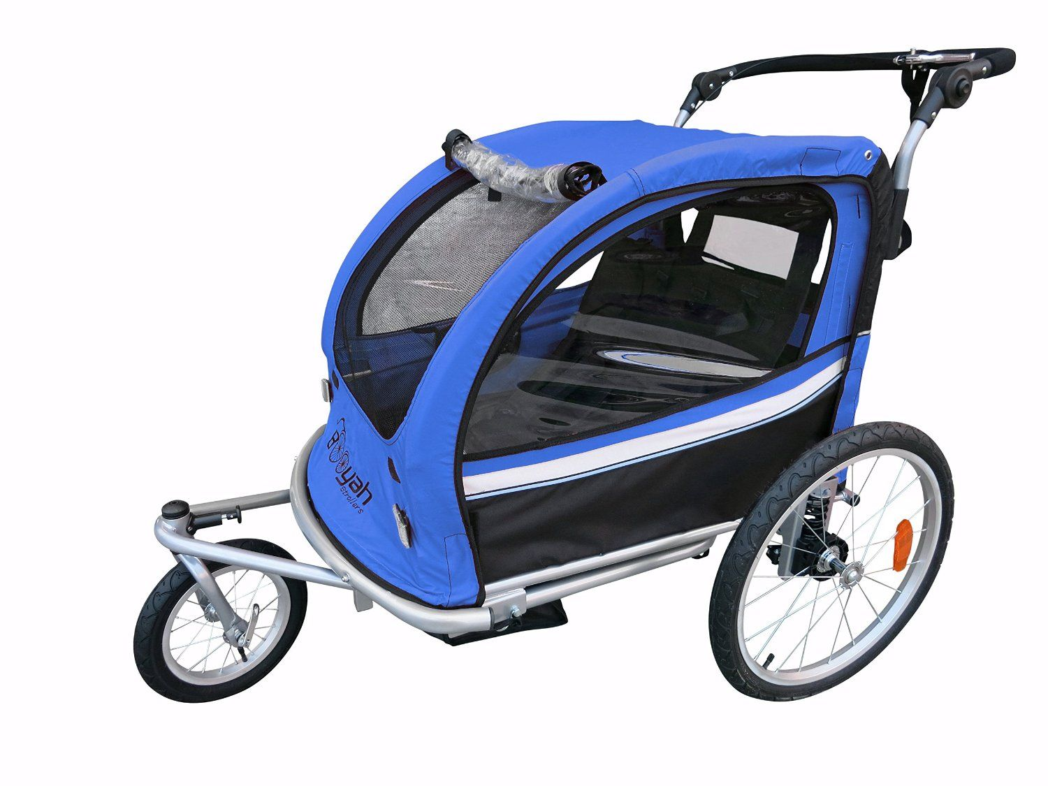 Best Jogging Stroller Bike Trailer Combos for Kids: Booyah ...
