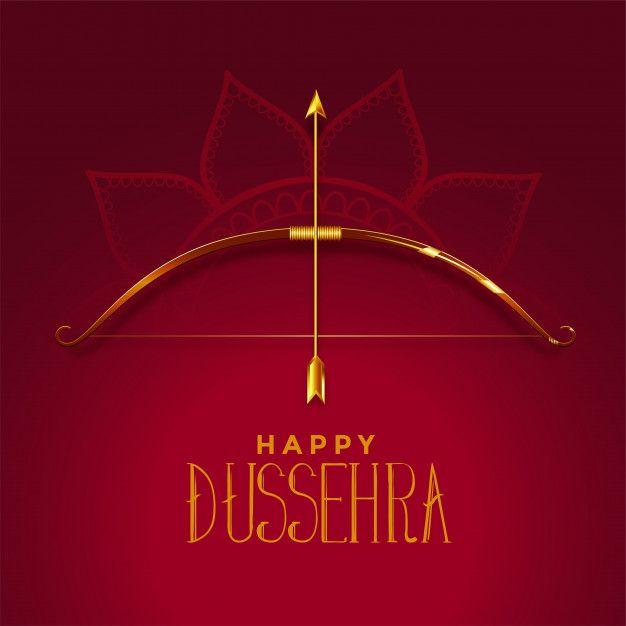 Download Happy Dusshera Beautiful Festival Card Wi