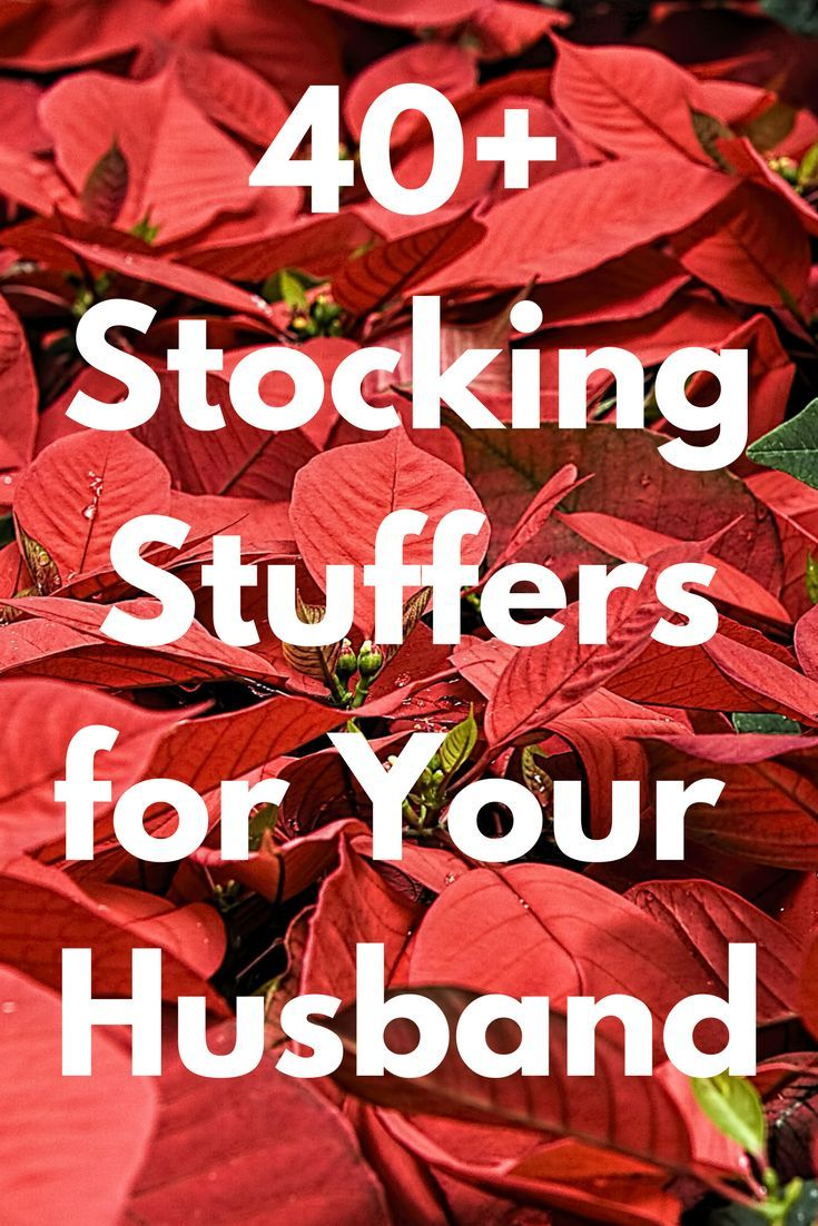 Best Christmas Stocking Stuffers for Your Husband: 40+ Stuffer Ideas and Presents You Can Buy for Him 2020