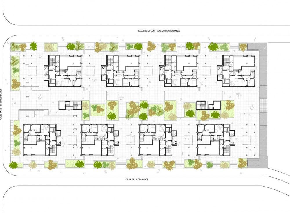 120 Social Housing In Parla Arquitecnica – Social Housing Plans