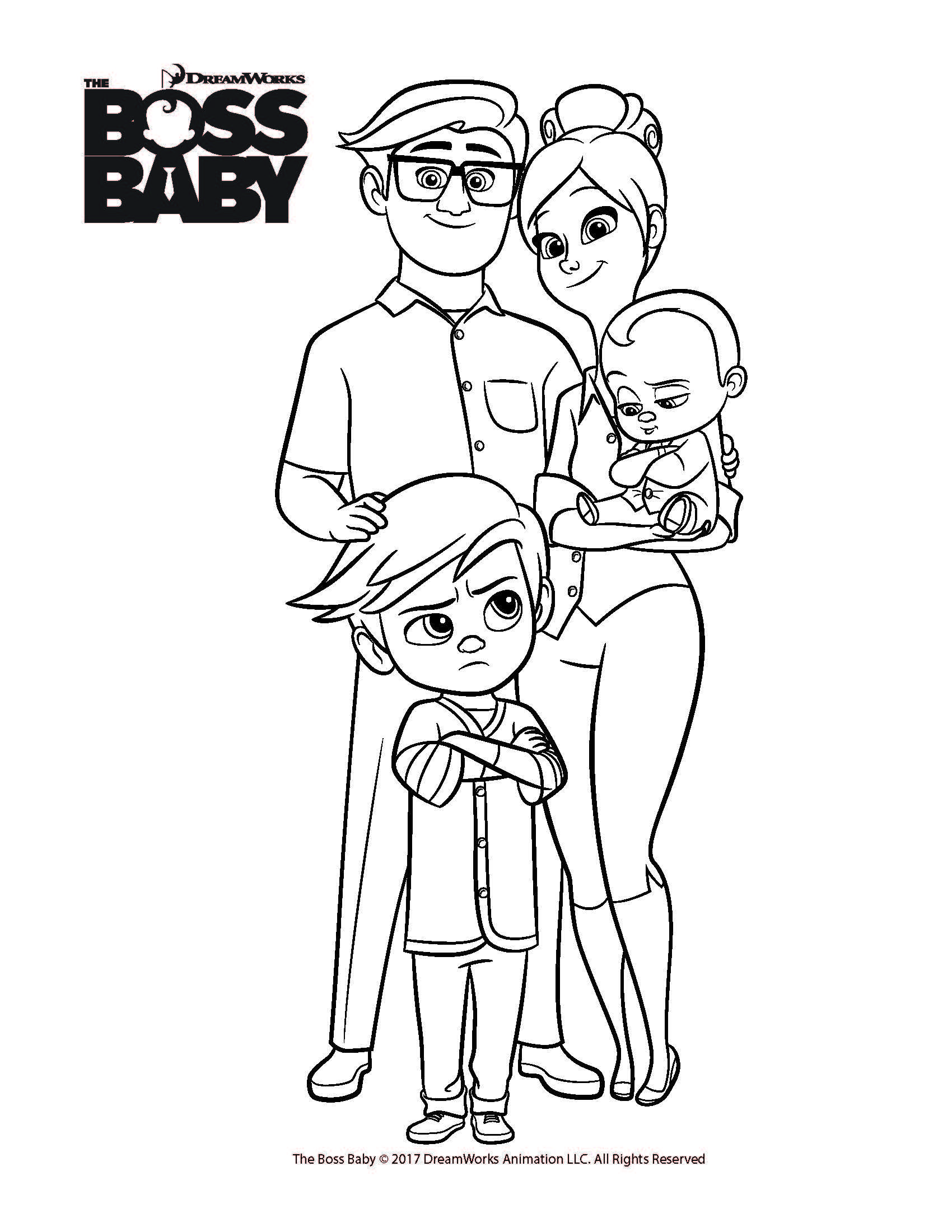 Free coloring page baby - Explore Boss Baby Free Coloring And More