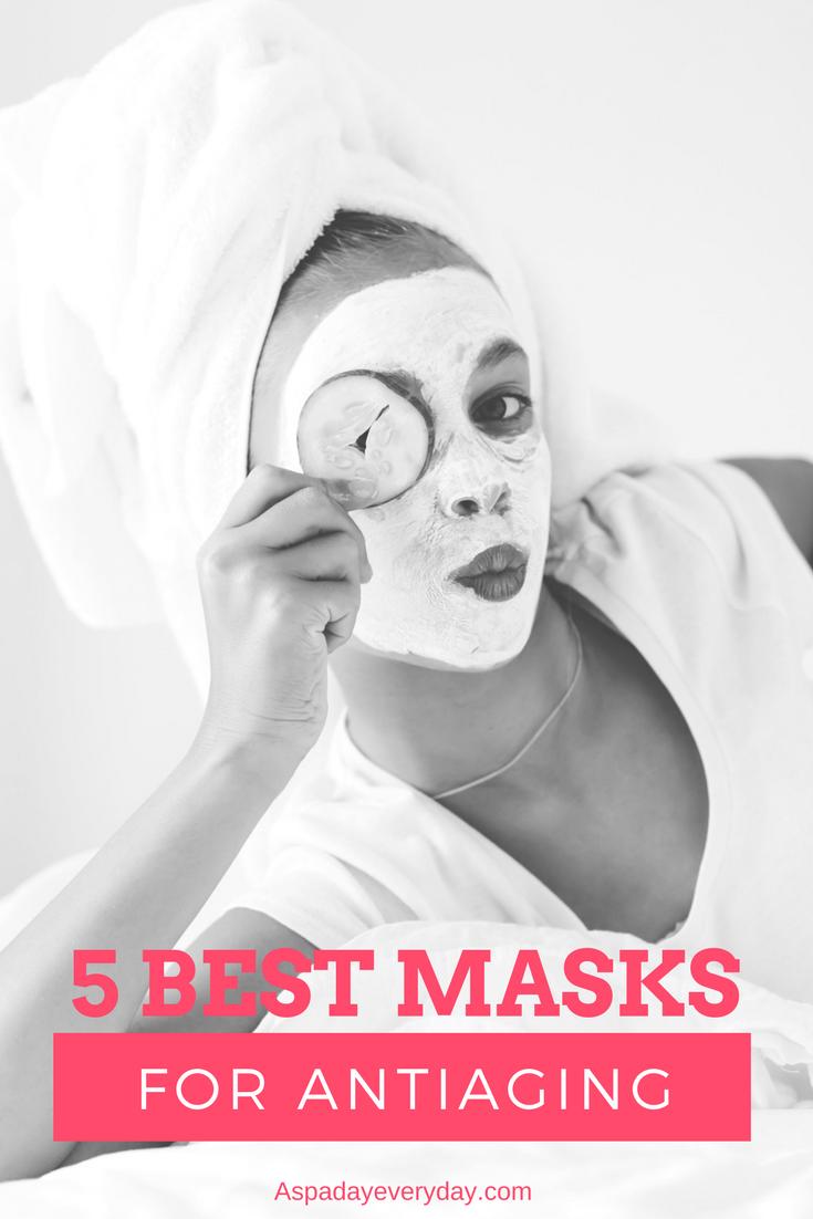 5 Best Exfoliating Masks for Anti-aging - A Spa Da
