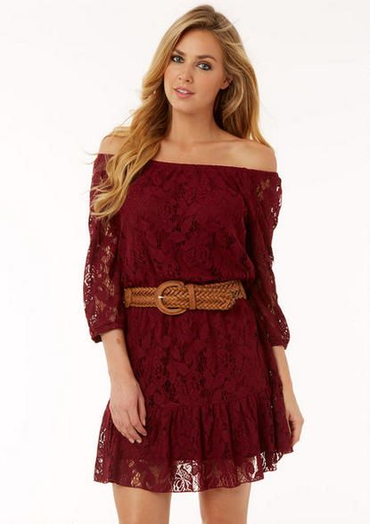 d7c22010d26 Abby Lace Dress - View All Dresses - Dresses - Clothing - Alloy Apparel