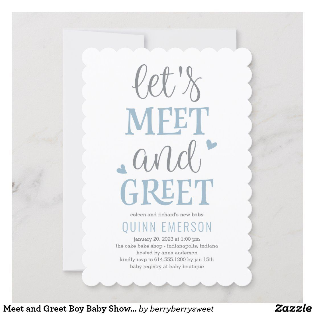 Meet and Greet Boy Baby Shower Invitation | Zazzle.com #Baby #Boy #Greet  #Invitati… in 2020 | Baby party invitations, Baby shower invitations for  boys, Welcome baby party