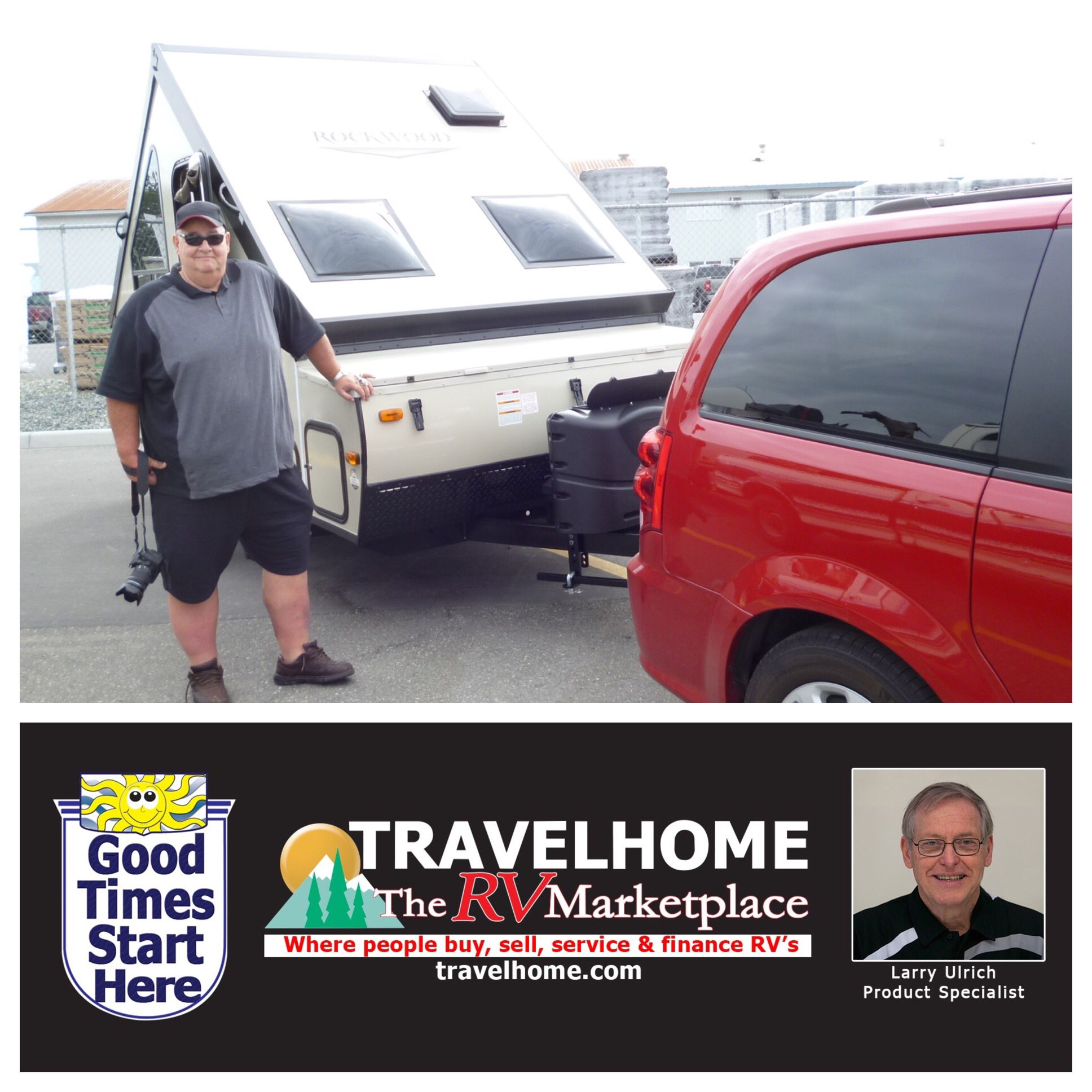 Congratulations To Robert On The Purchase Of His Rockwood A122s