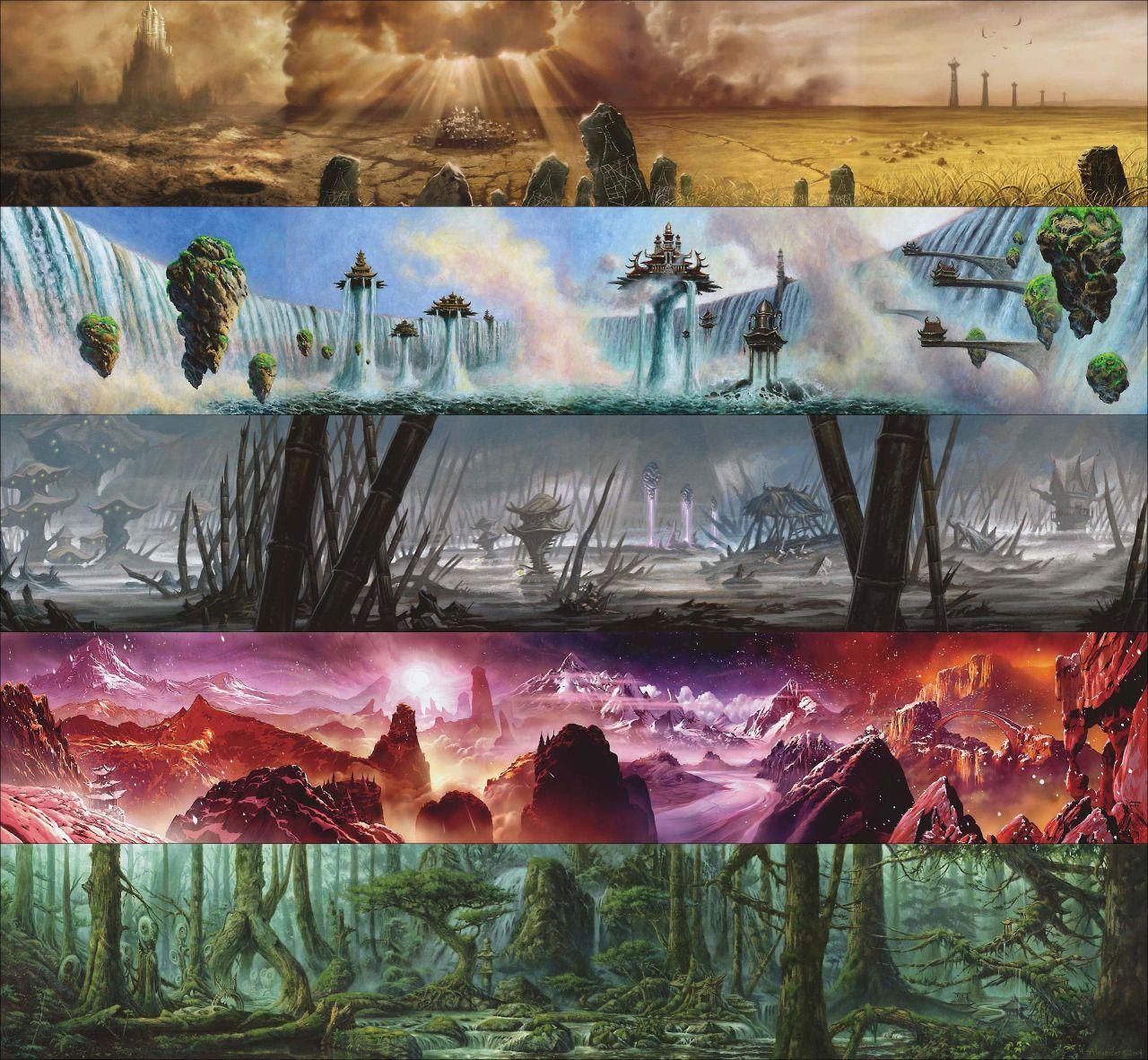 Salt Palace - markrosewater:   mtg-realm:  Magic: the Gathering...
