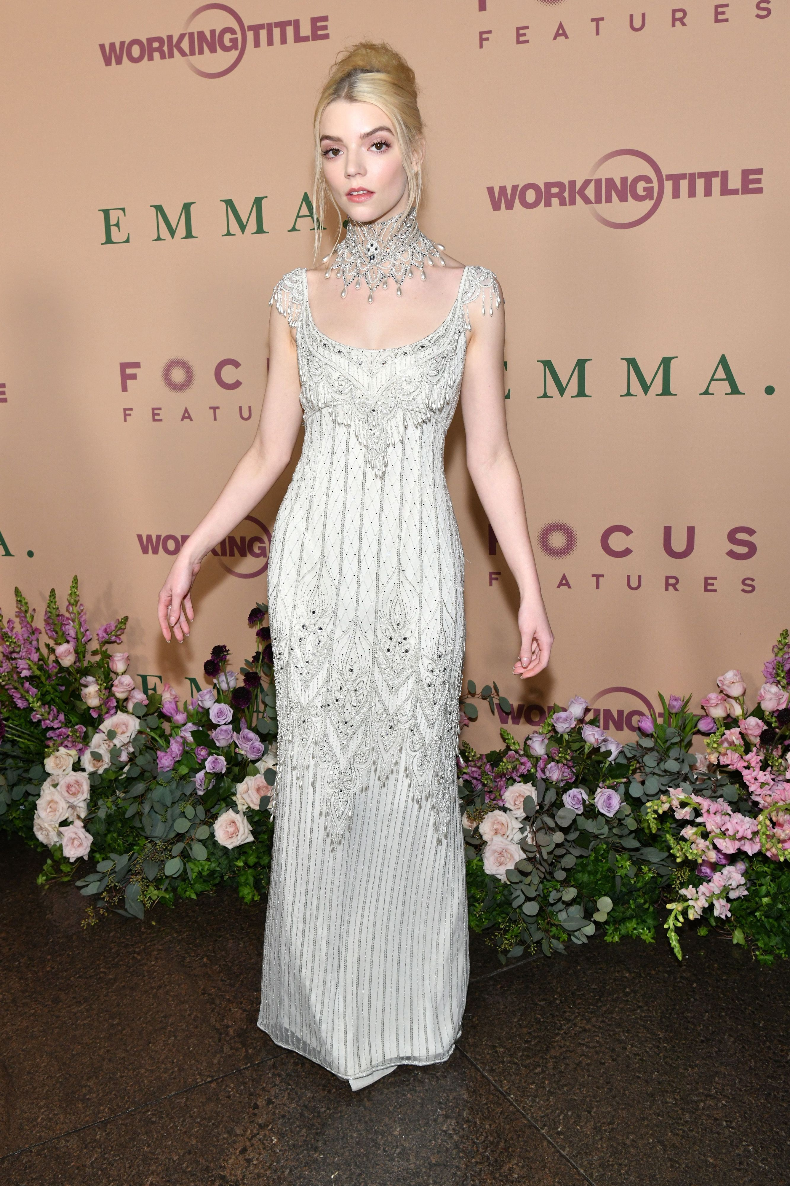 Photo of Anya Taylor-Joy In Vintage Bob Mackie – 'Emma' LA Premiere