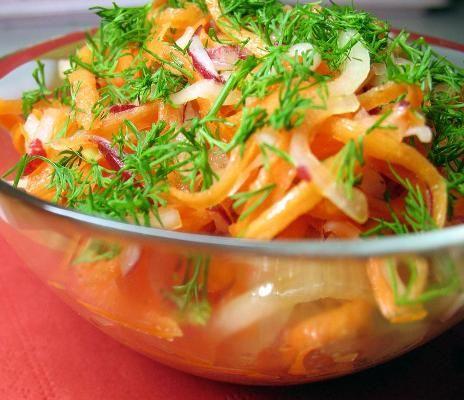 Имбирный салат для похудения