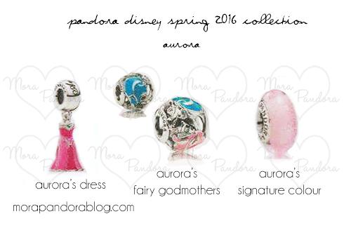 Pandora Princess Charms
