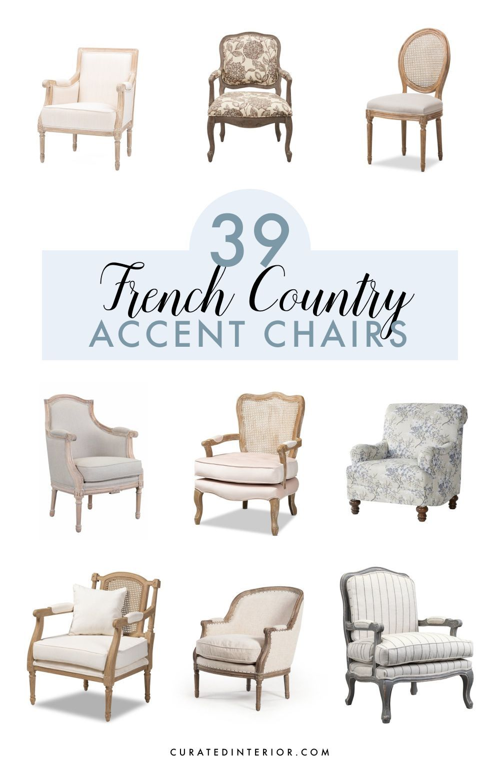39 Charming French Country Accent Chairs Home Decor Paintings