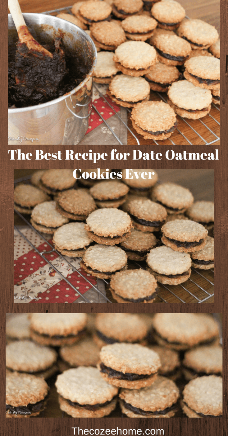 The Best Date Sandwich Cookies Ever