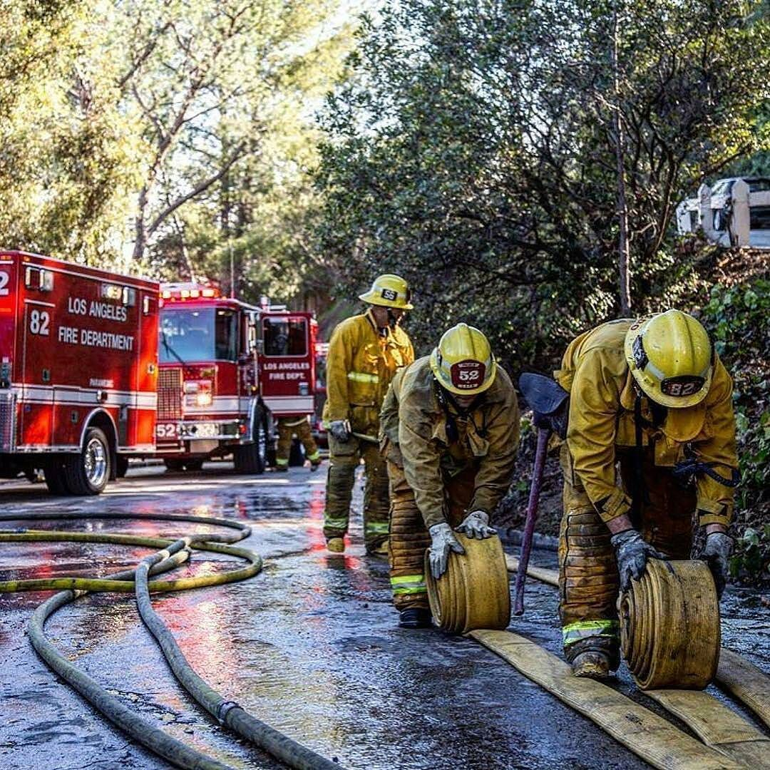 Featured Post Californiafirefighter Lafd Firefighters Today