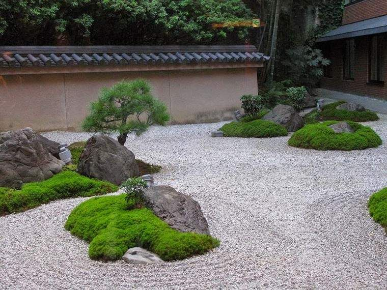 Pierre Pour Jardin Zen grosse pierre pour décorer son jardin : propositions originales