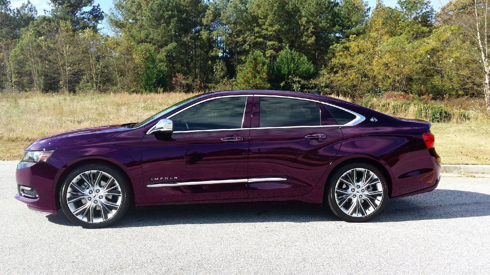 All Types 2014 impala specs : 2014 Chevy Impala, dark purple. I made it the color I want in ...