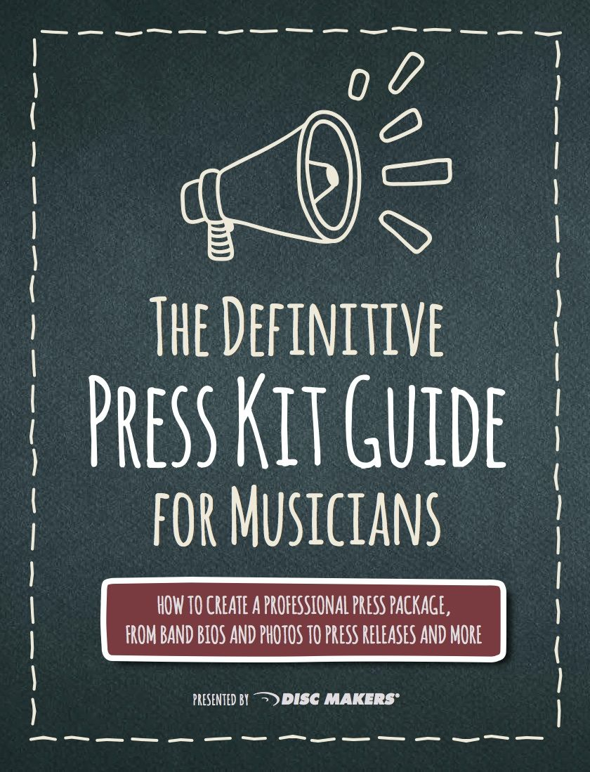 What Is The Purpose Of A Band Press Kit Disc Makers Press Kit Music Press Kit Music Business
