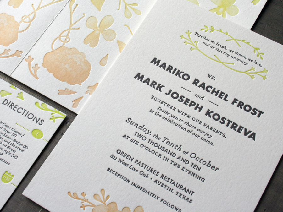 type treatment for J+P | wedding invitations | Pinterest | Type ...