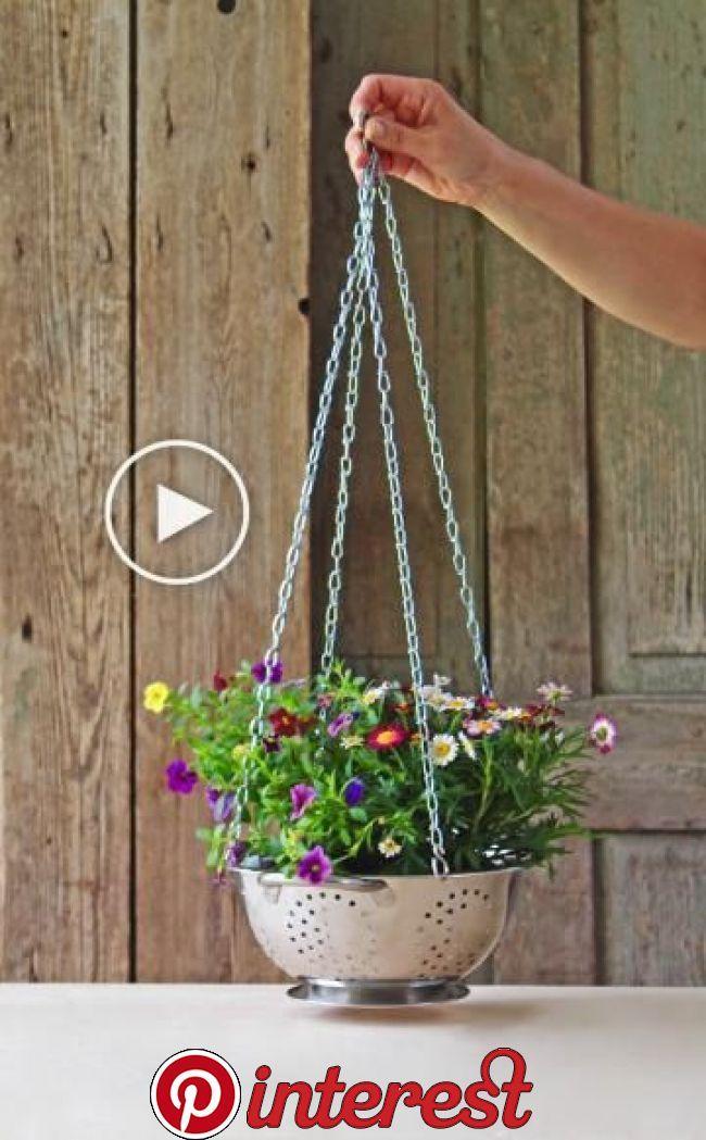 Video: Blumenampel selber machen Kreative ...