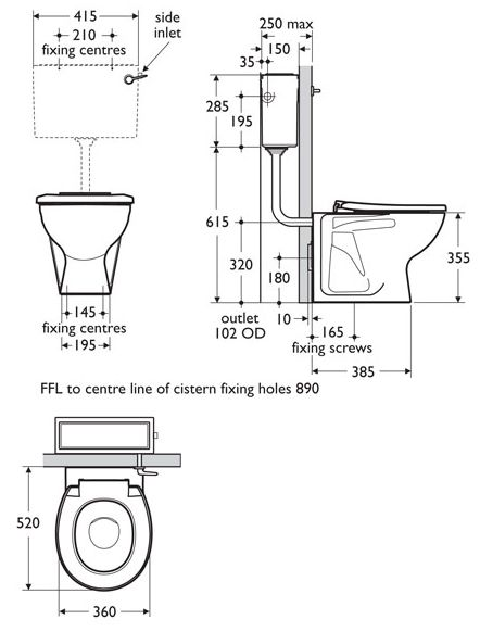 average bathroom sink height image result for average dimensions of a cistern 15445