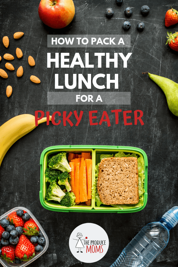 How To Pack A Healthy Lunch For A Picky Eater Put A Pin