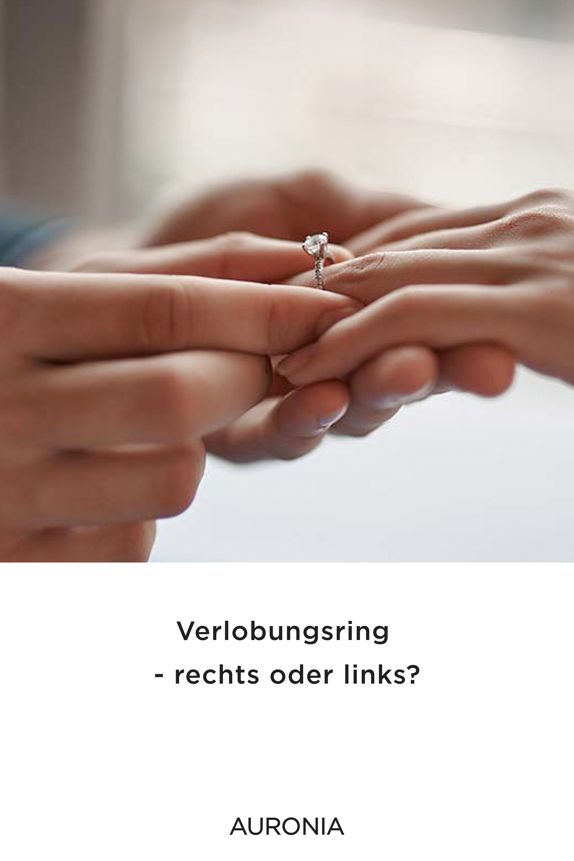 Verlobungsring - rechts oder links? in 2020 | Ring