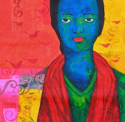 Painting By Priyanka Waghela, Acrylic on canvas