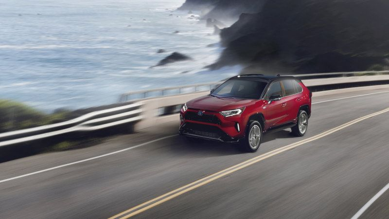 2021 Toyota Rav4 Prime Plug In Hybrid Revealed With Images