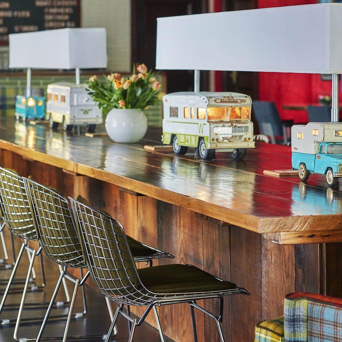 Home Graduate Hotels Cafe interior, Hospitality design