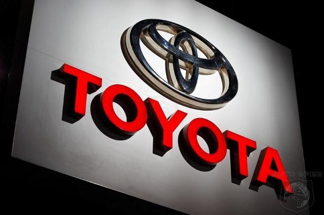 Toyota Full Year Profit Drops By A Quarter Despite Record Sales Toyota Toyota Logo Toyota Motors