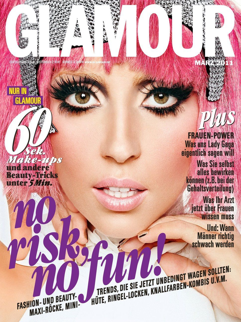 Magazine Photos Featuring Glamour Germany March On The Cover Back Issues And Newstand