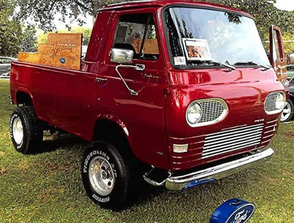 1964 Ford Econoline Pickup For Sale 100796143 Custom