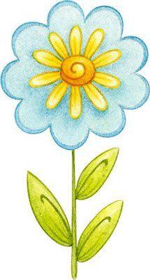 Flores coloreadas para imprimir  Imagenes y dibujos para