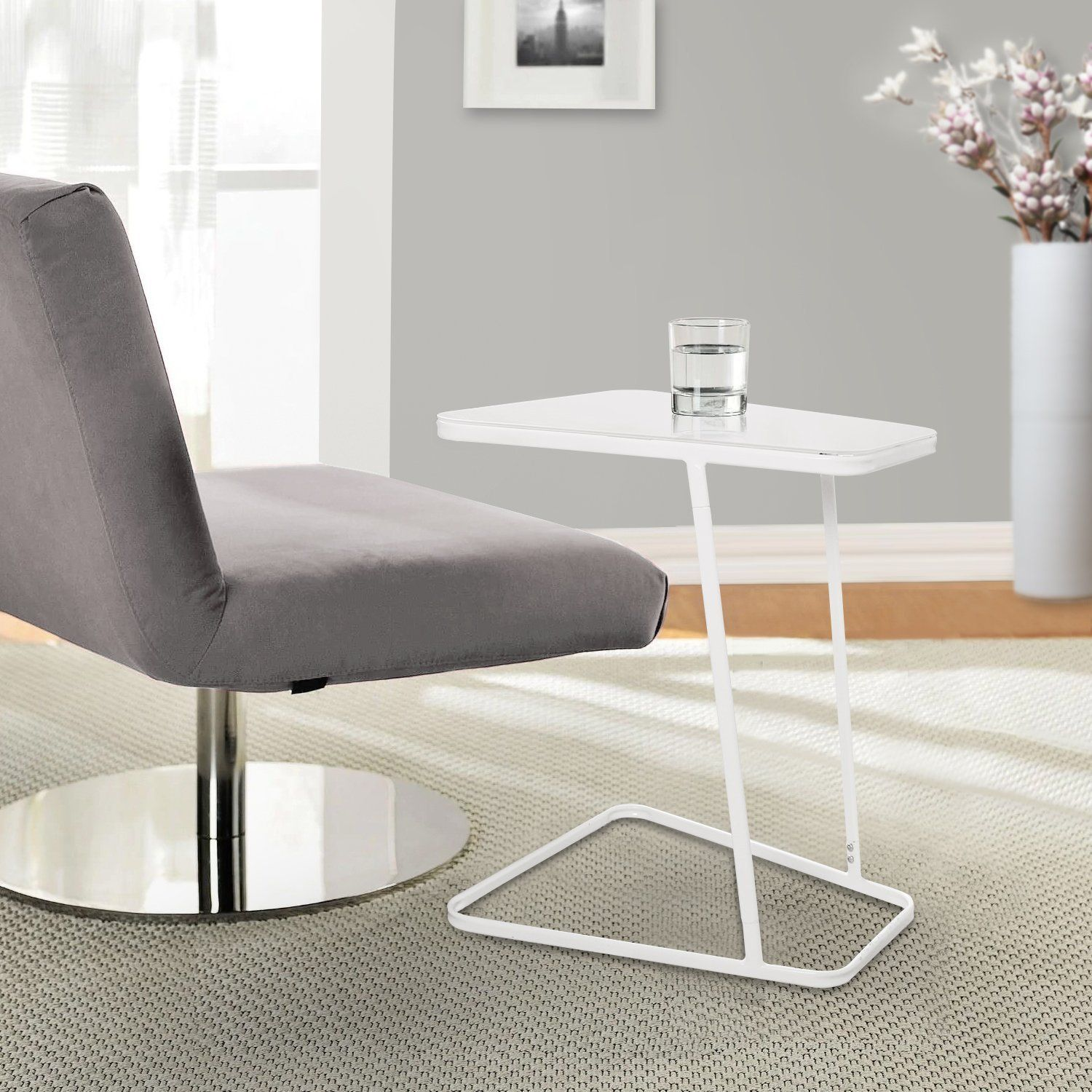 Amazon Com Lifewit End Table Side Snack Coffee Sofa Table Modern
