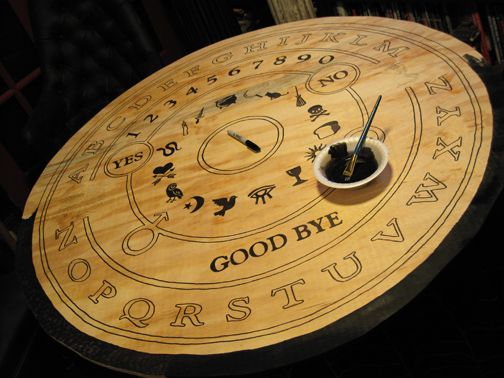 DIY Tuesday   Simple And Cheap Ways To Turn Your House Into A - Ouija coffee table