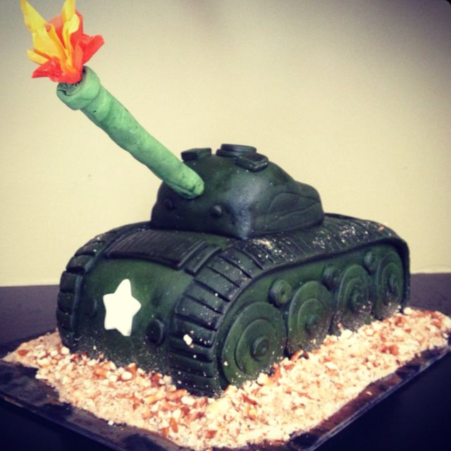 Tremendous Army Tank Birthday Cake Army Birthday Parties Army Birthday Funny Birthday Cards Online Elaedamsfinfo