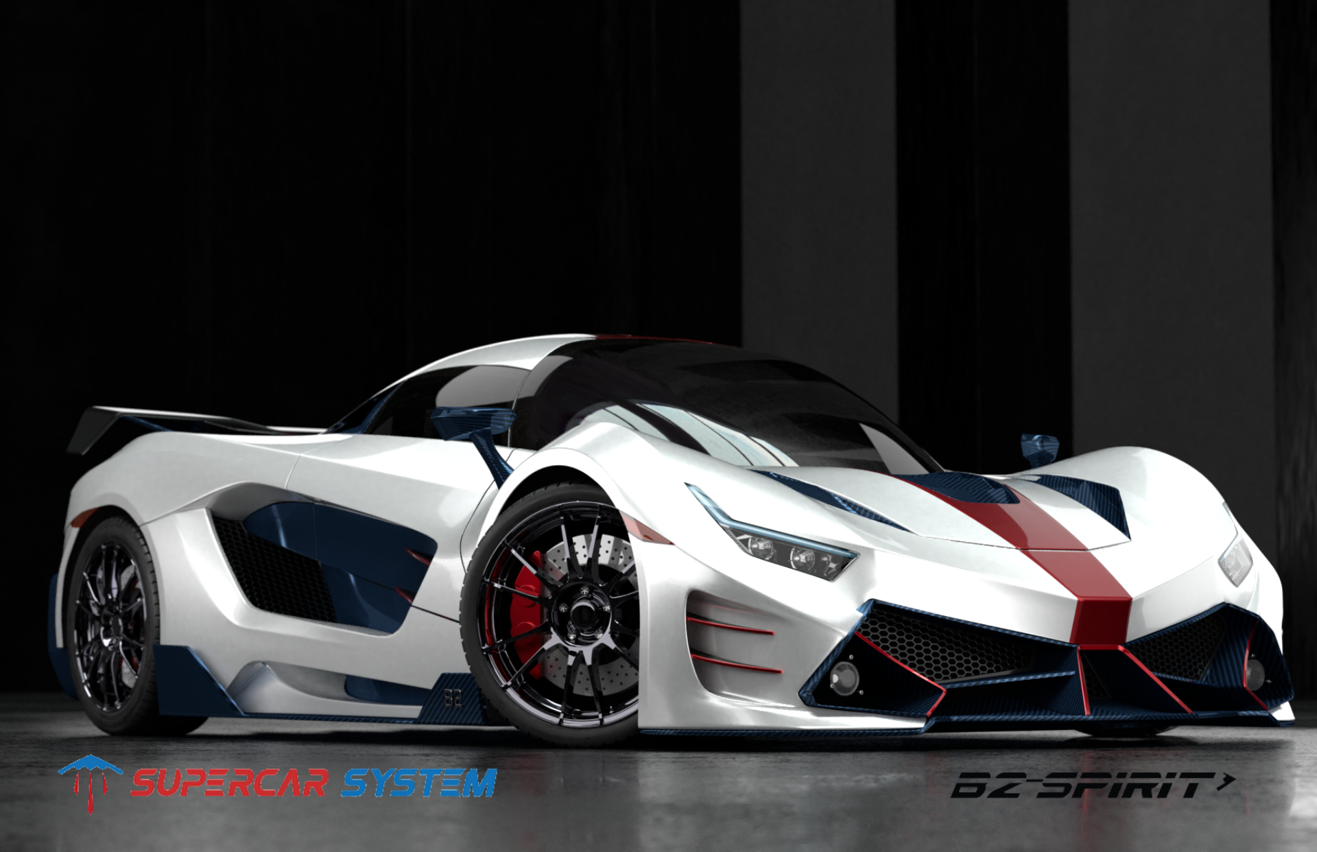 B2 Spirit 003 Super Cars System Sports Car